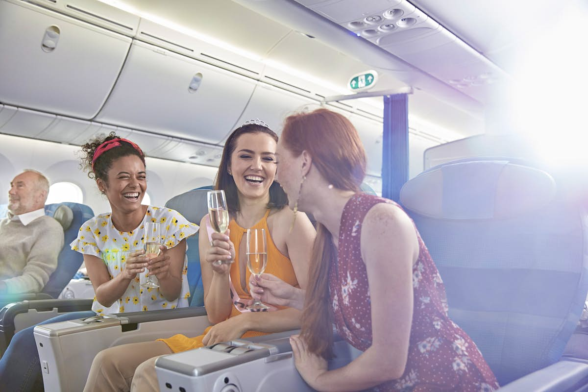 Stuck in the middle seat? You could win rewards for your travel woes
