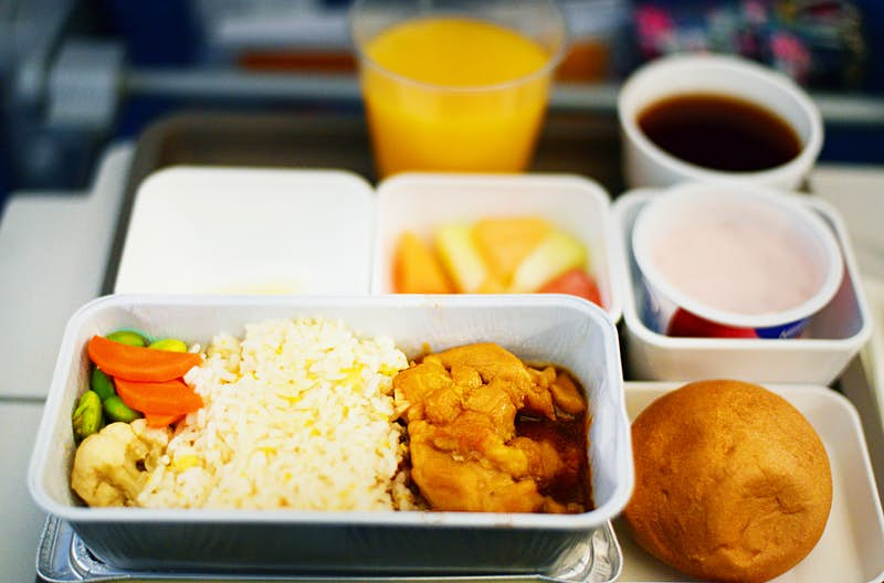 Travel News - In Flight Meal - Economy Class
