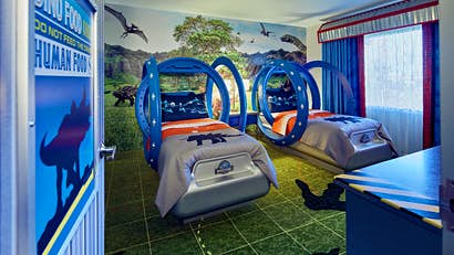 themed rooms disney inspired spaces.htm dinosaur mad kids will love staying at these jurassic world themed  jurassic world themed