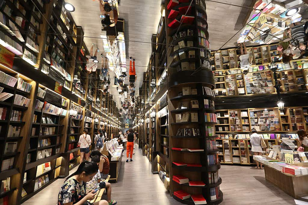 See why travellers are flocking to these fairytale like Chinese bookstores