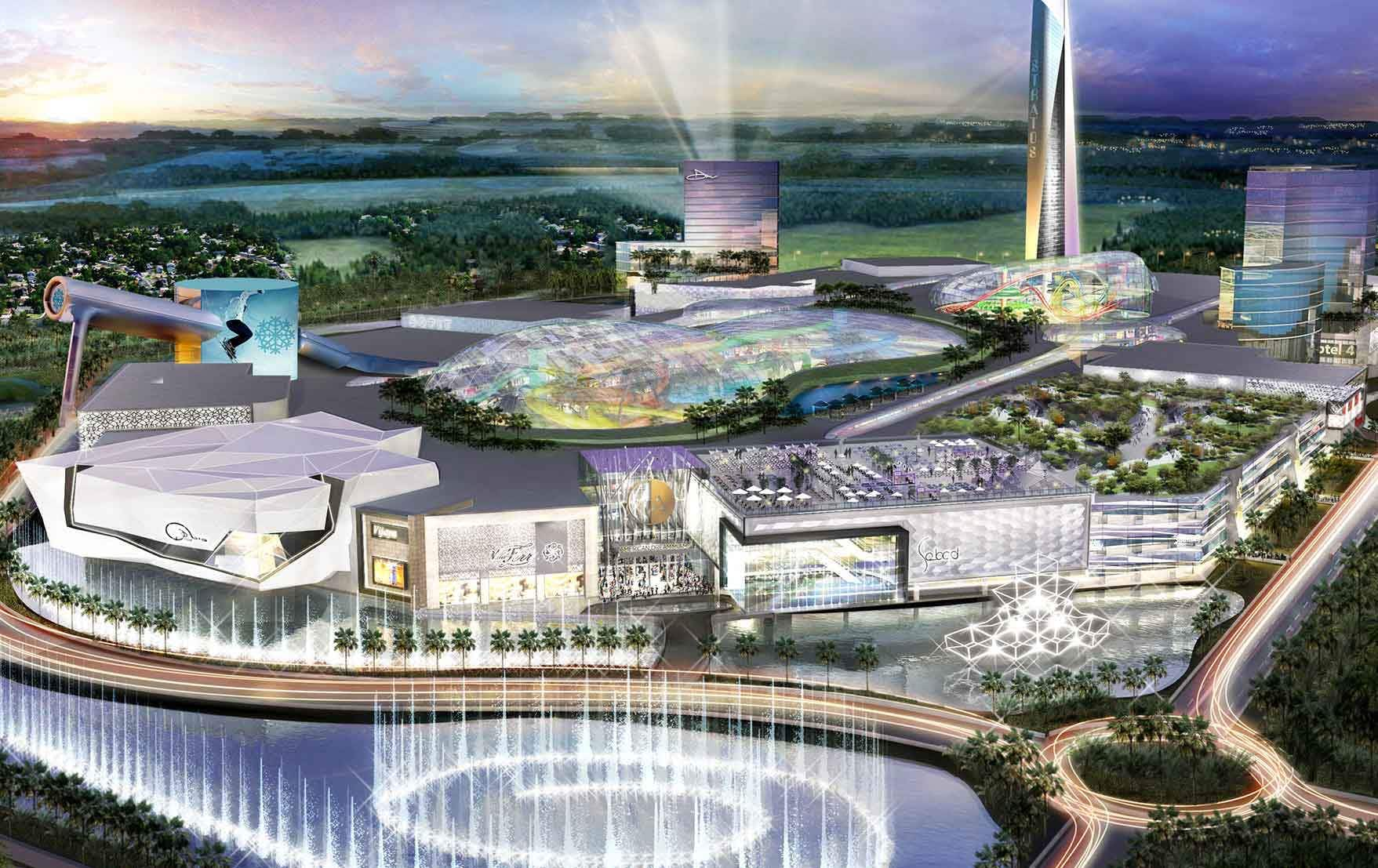 Miami's new shopping mall will be the size of a city