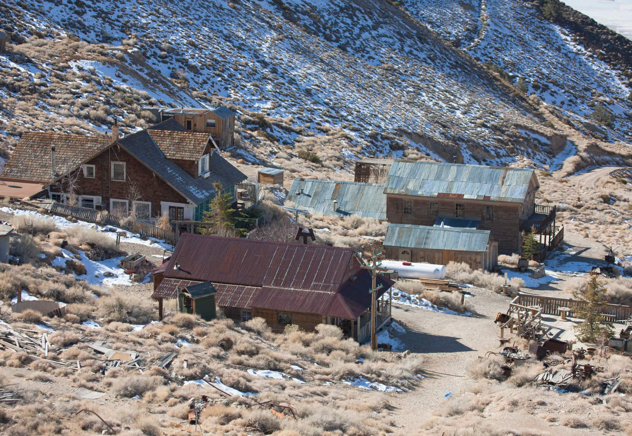 You can buy your own ghost town in California