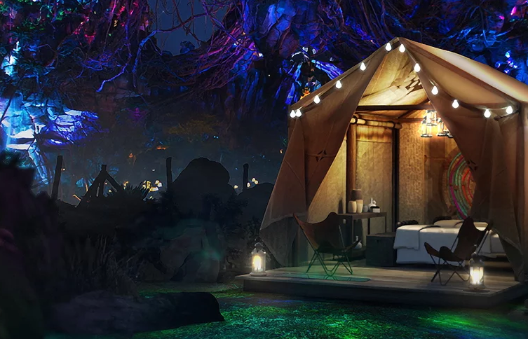 How to spend the night in Disney's Avatar theme park