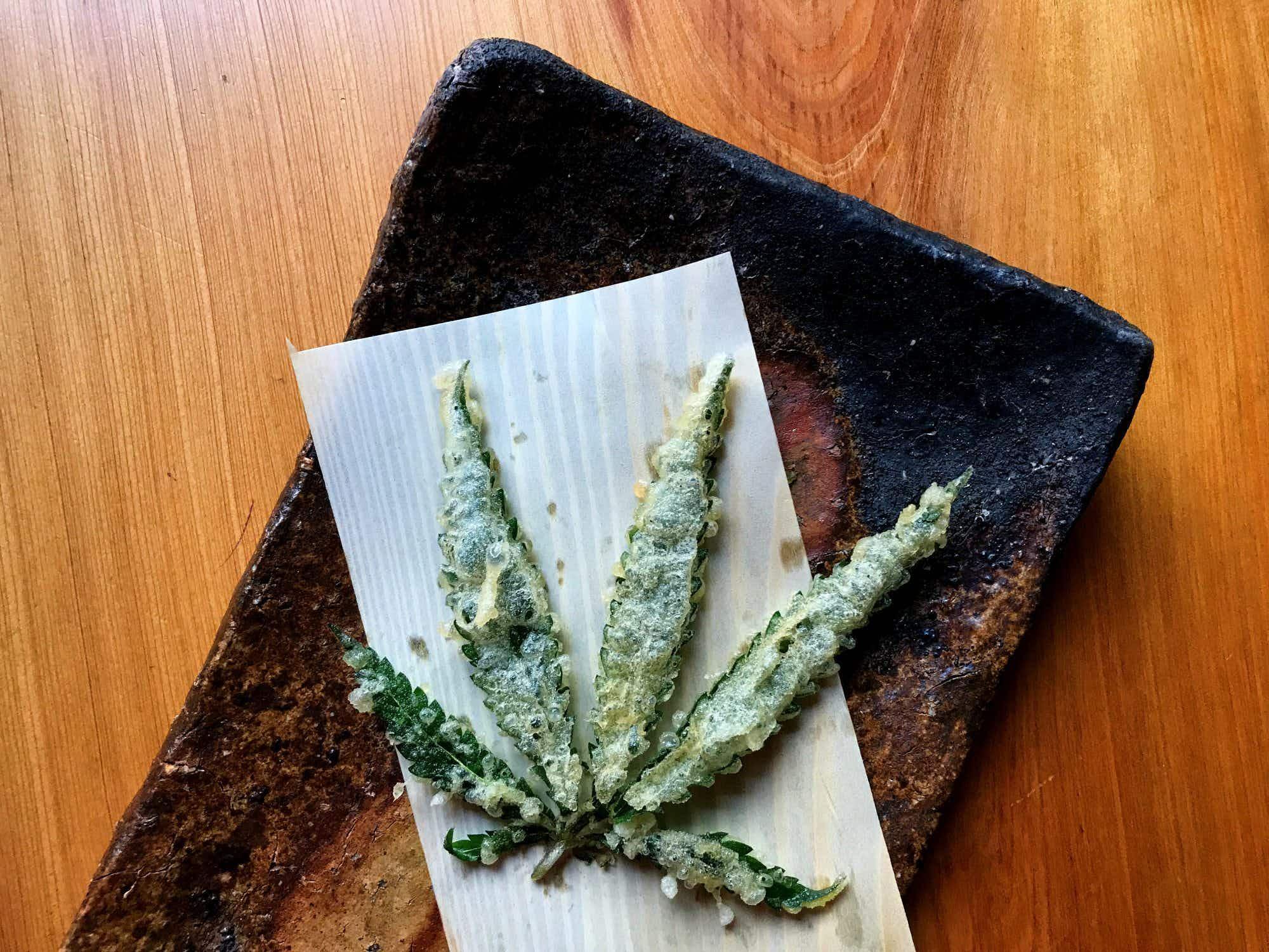 How you can order cannabis leaftempura from a secretmenu in a LA restaurant