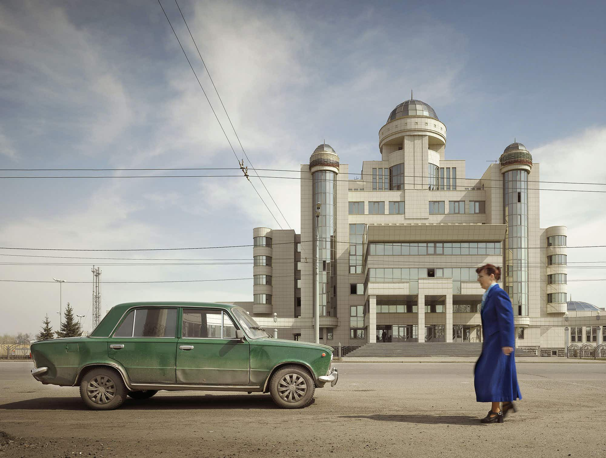 Unique post-Soviet architecture photographed throughout the years