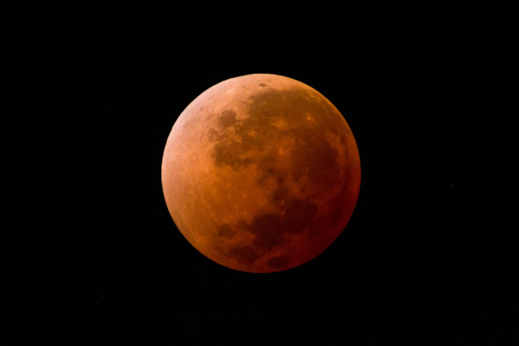 The longest lunar eclipse of this century is happening this week
