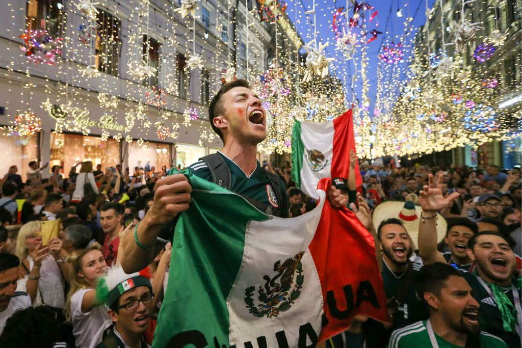 Mexican fans are winning hearts at this year's World Cup