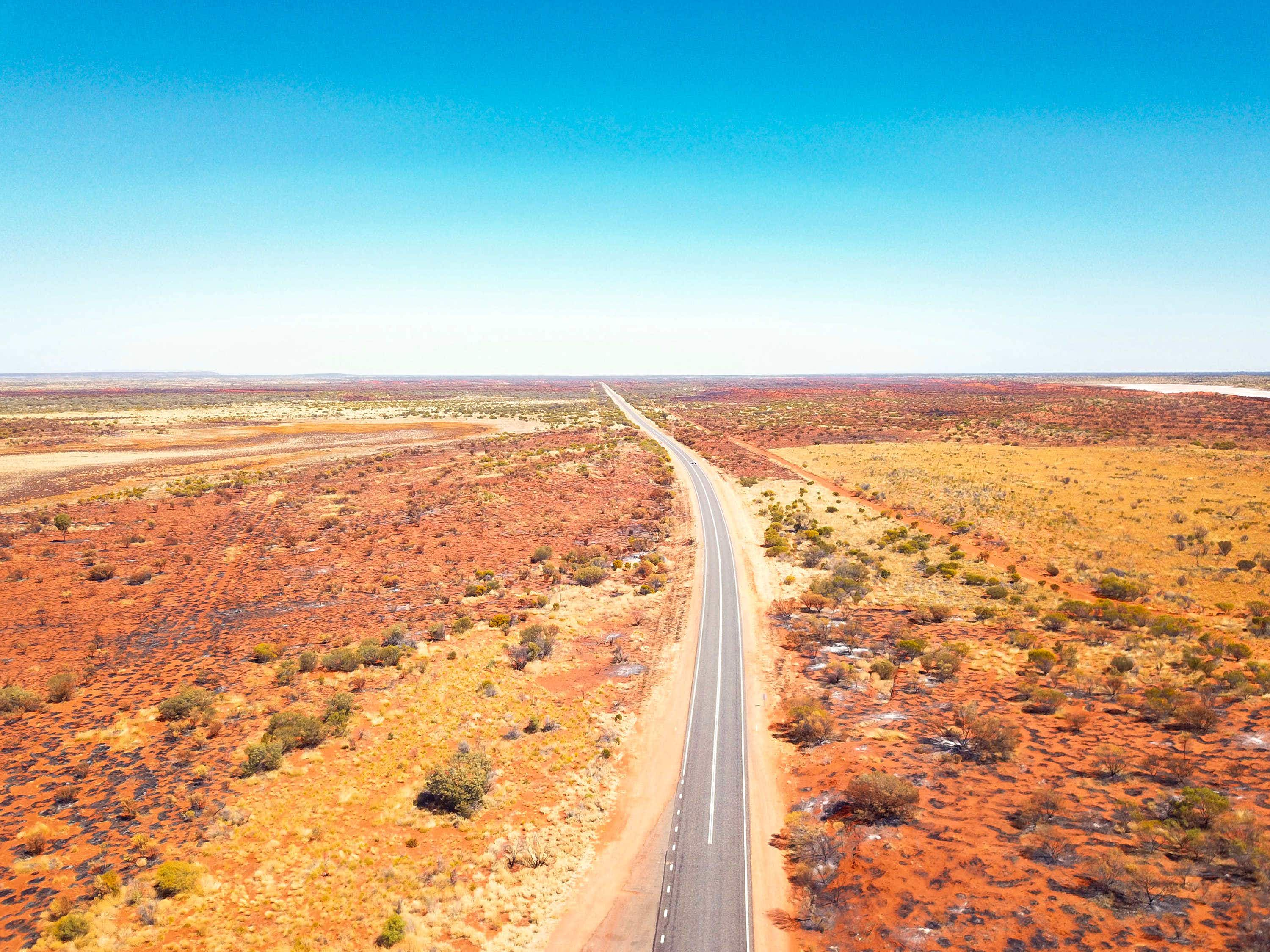 US travellers going to Australia can claim themselves a free flight to the Outback
