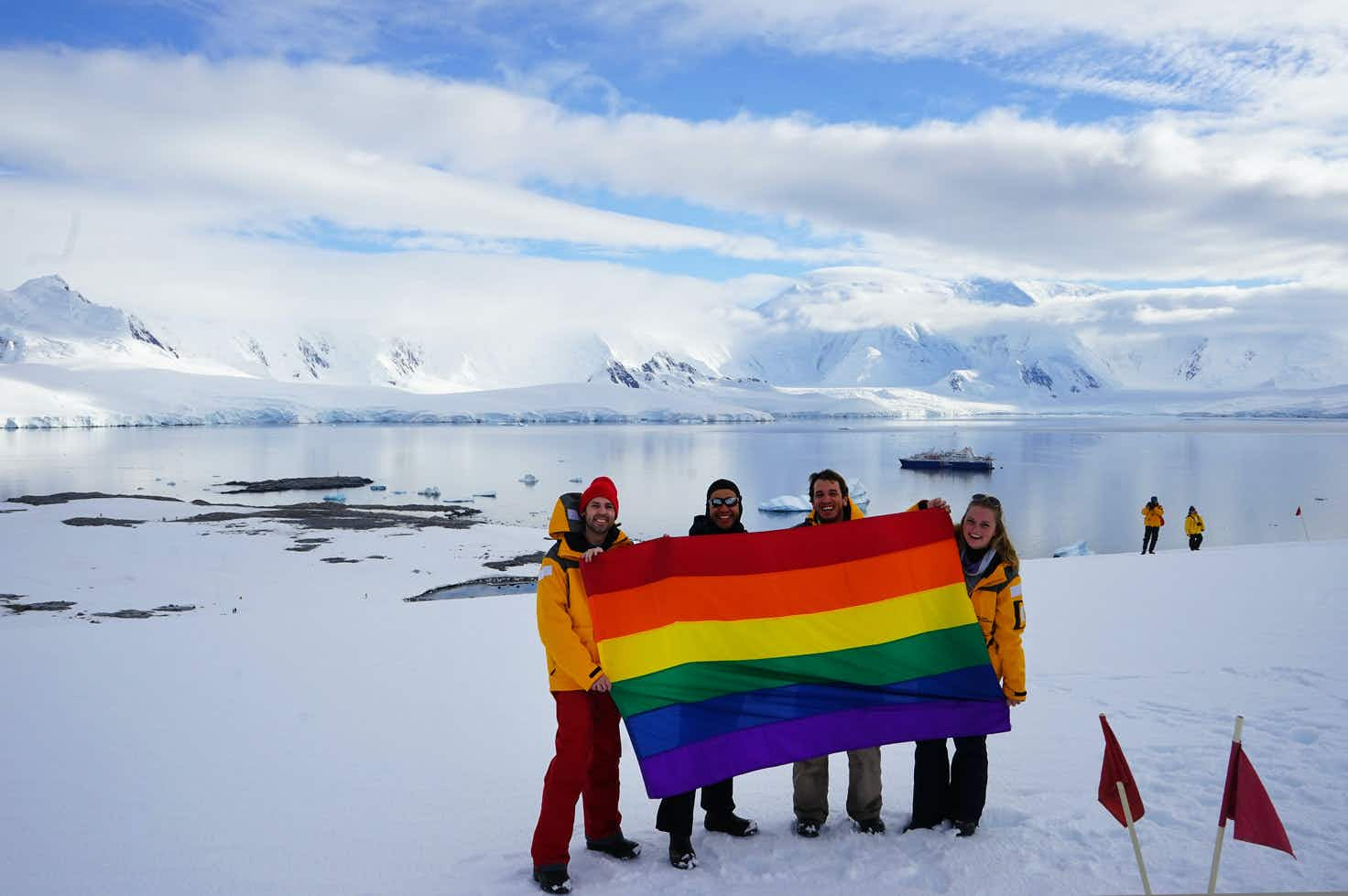 Antarctica set to celebrate its first Pride event