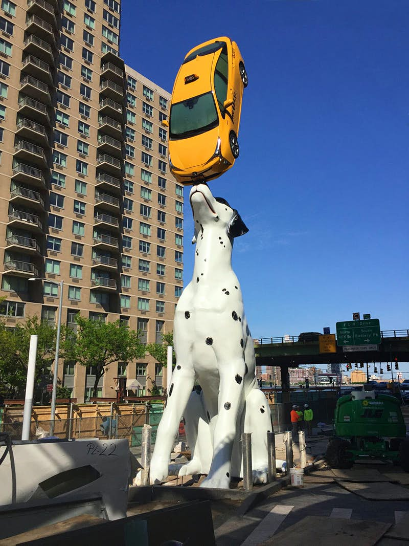 Meet SPOT, New York's latest piece of artwork, created to