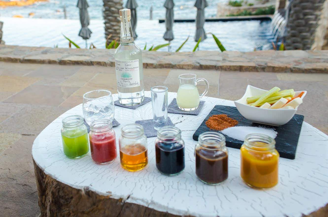 This Mexican resort gives guests a personal margarita station complete with butler