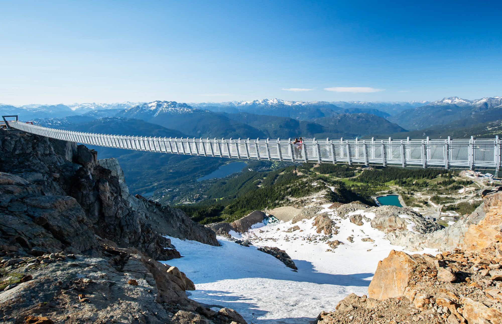 Whistler's epic views just got easier to reach with this new suspension bridge