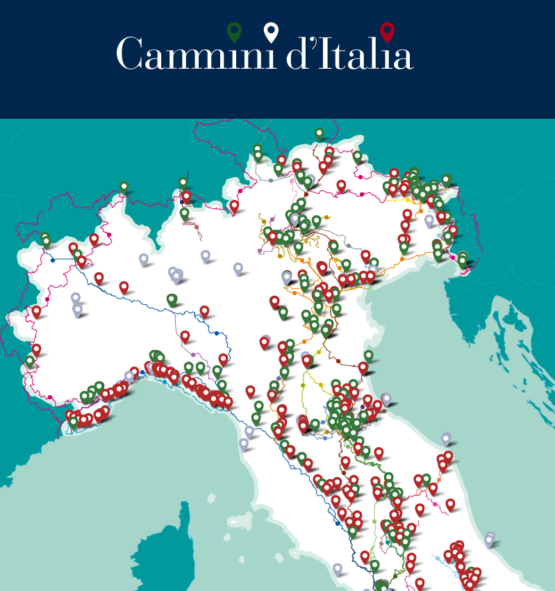 Trekking across Italy just got easier with this digital map