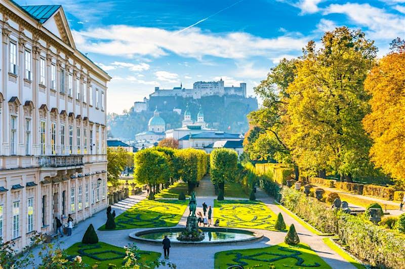 A view of Salzburg in Austria
