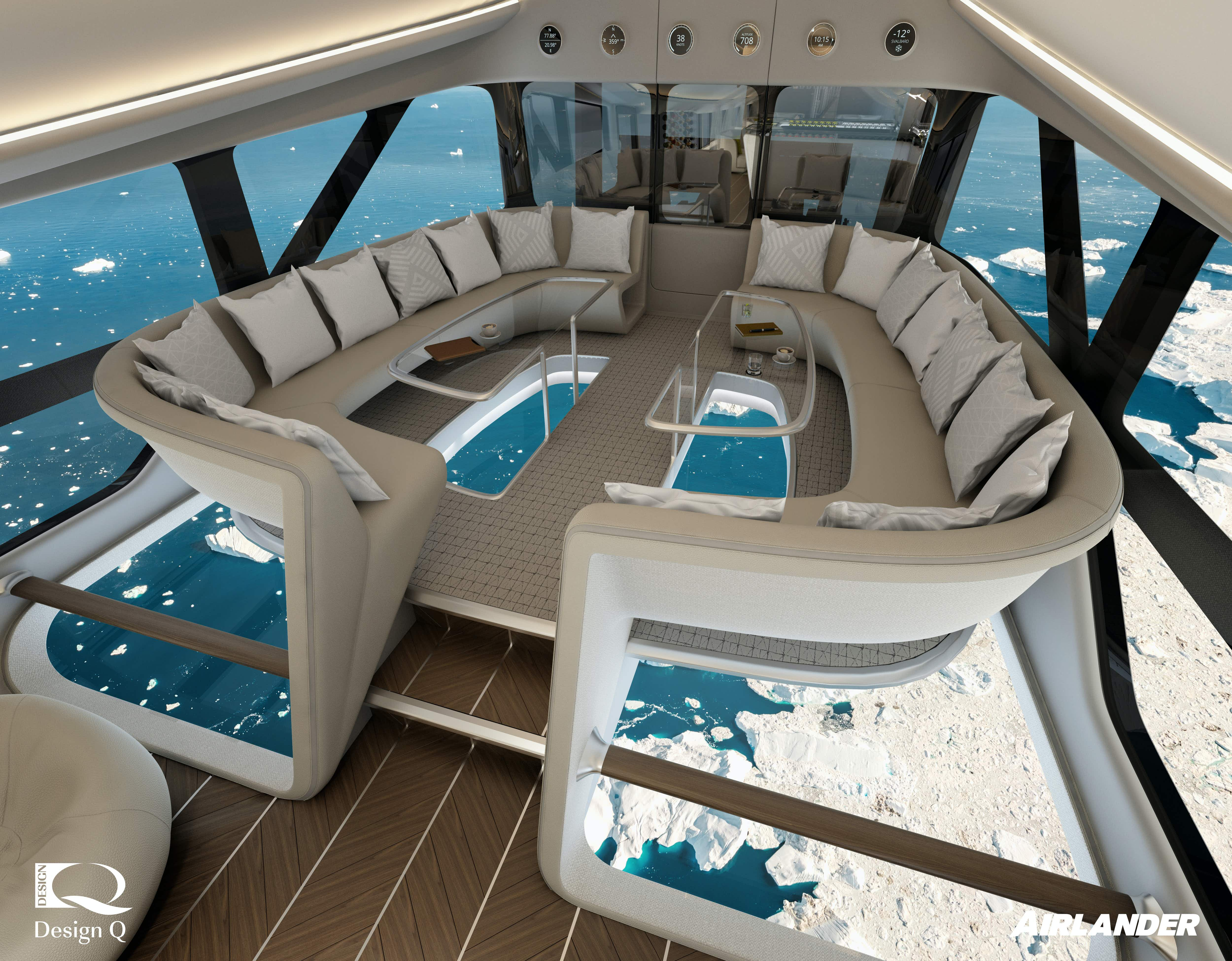Inside the world's new luxury airline with glass floors and private rooms