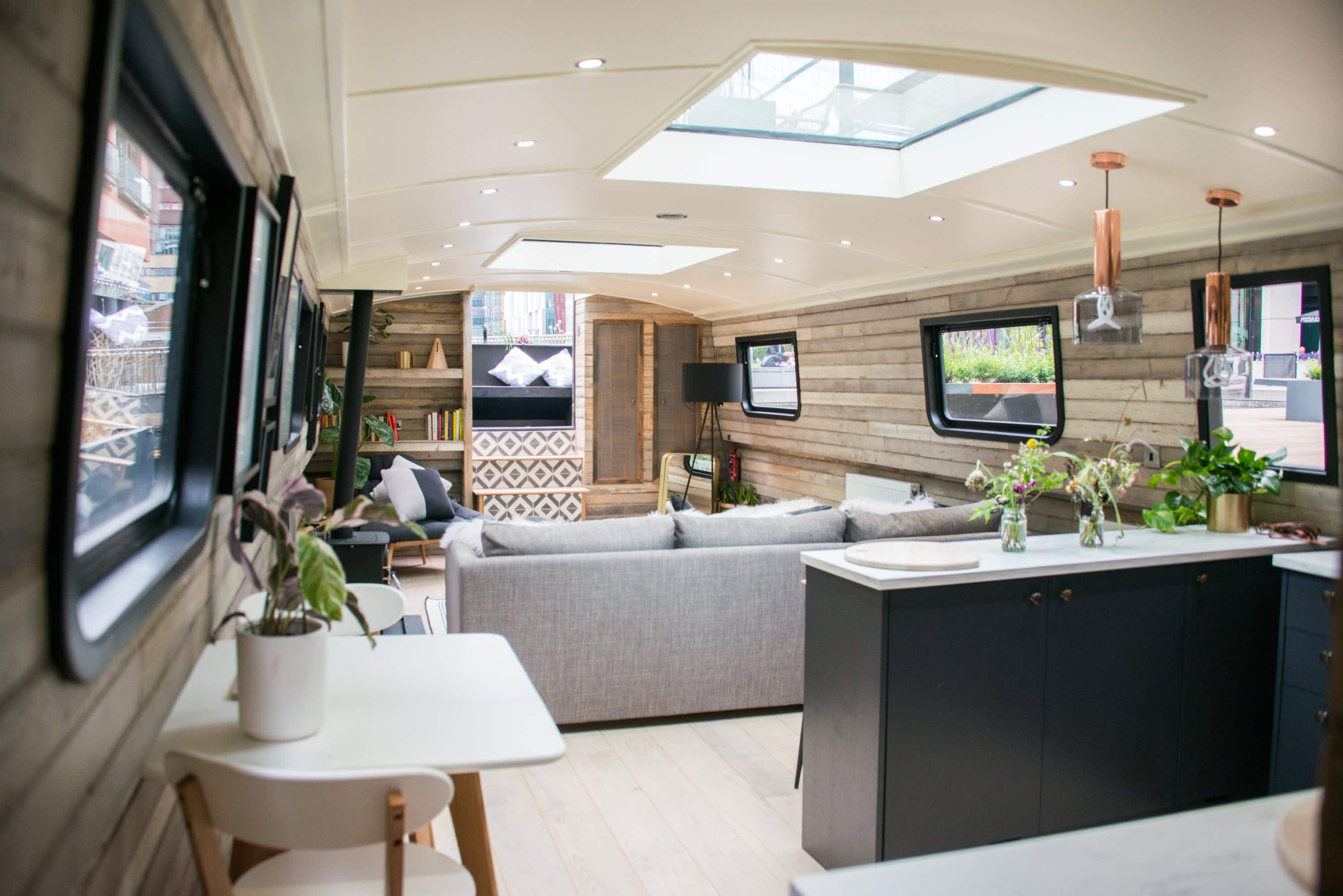 Spend the night on London's canals in this new boutique boat hotel