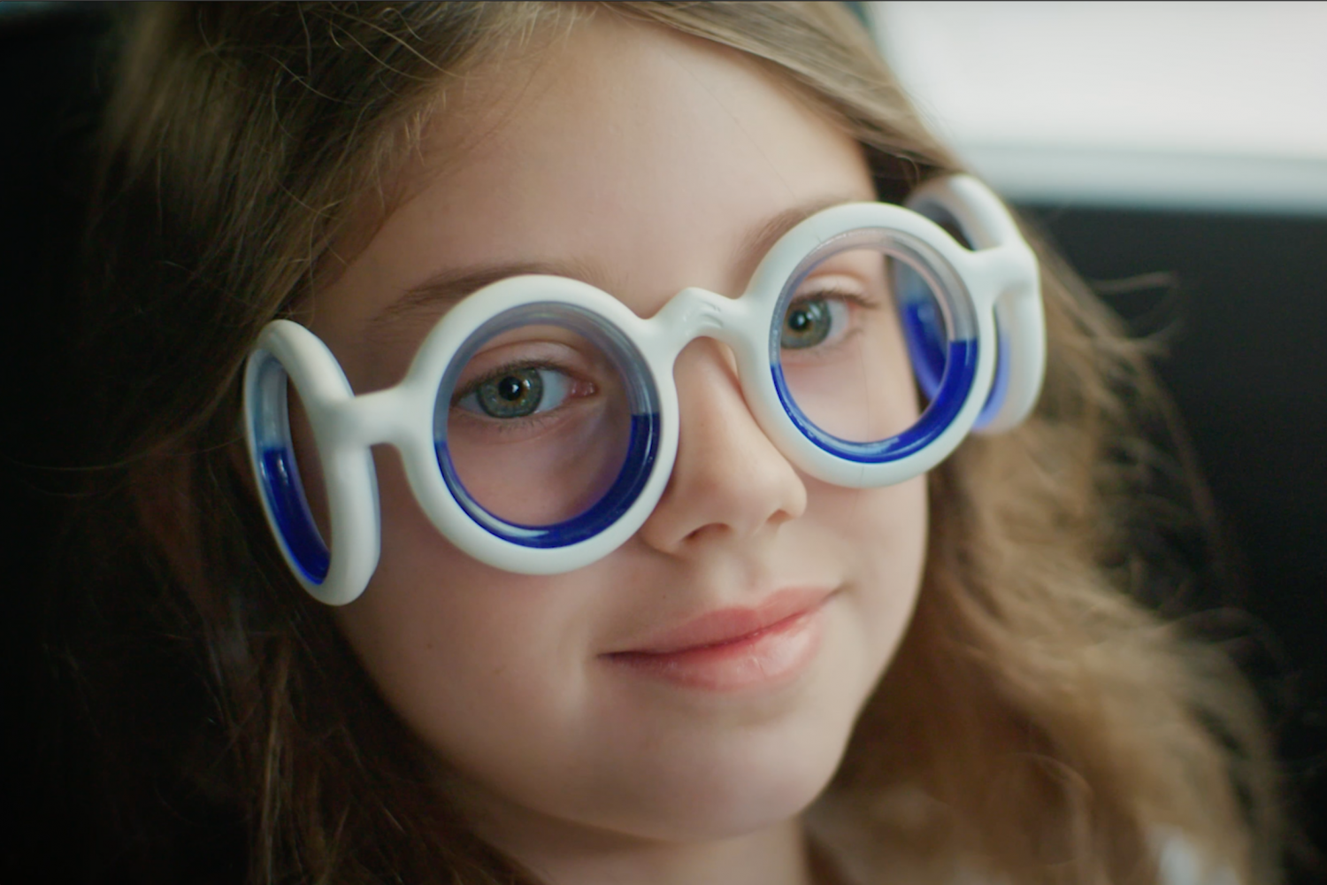 Could these unusual glasses be the cure for travel sickness?