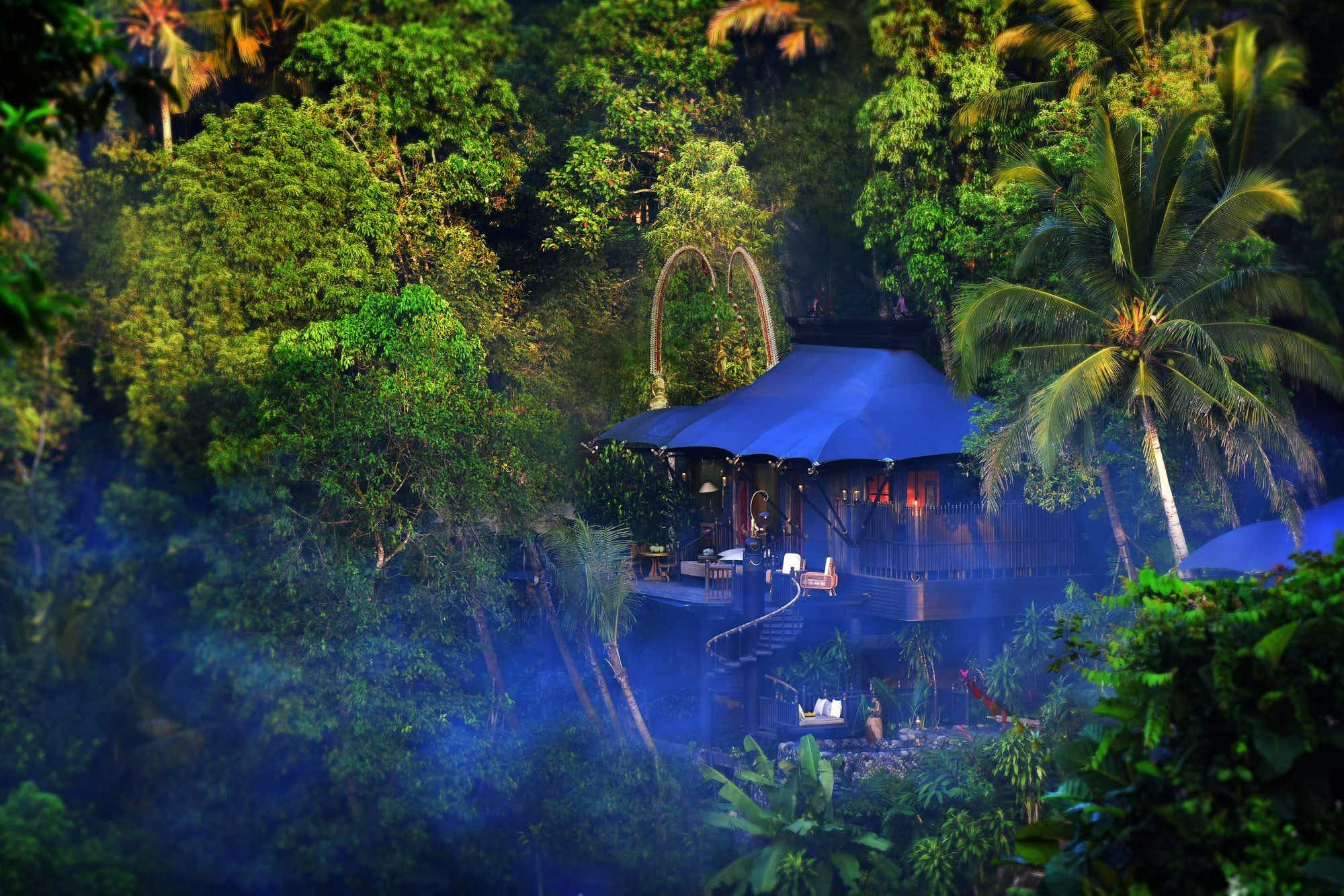 Sleep under canvas in Bali's new five-star rainforest retreat