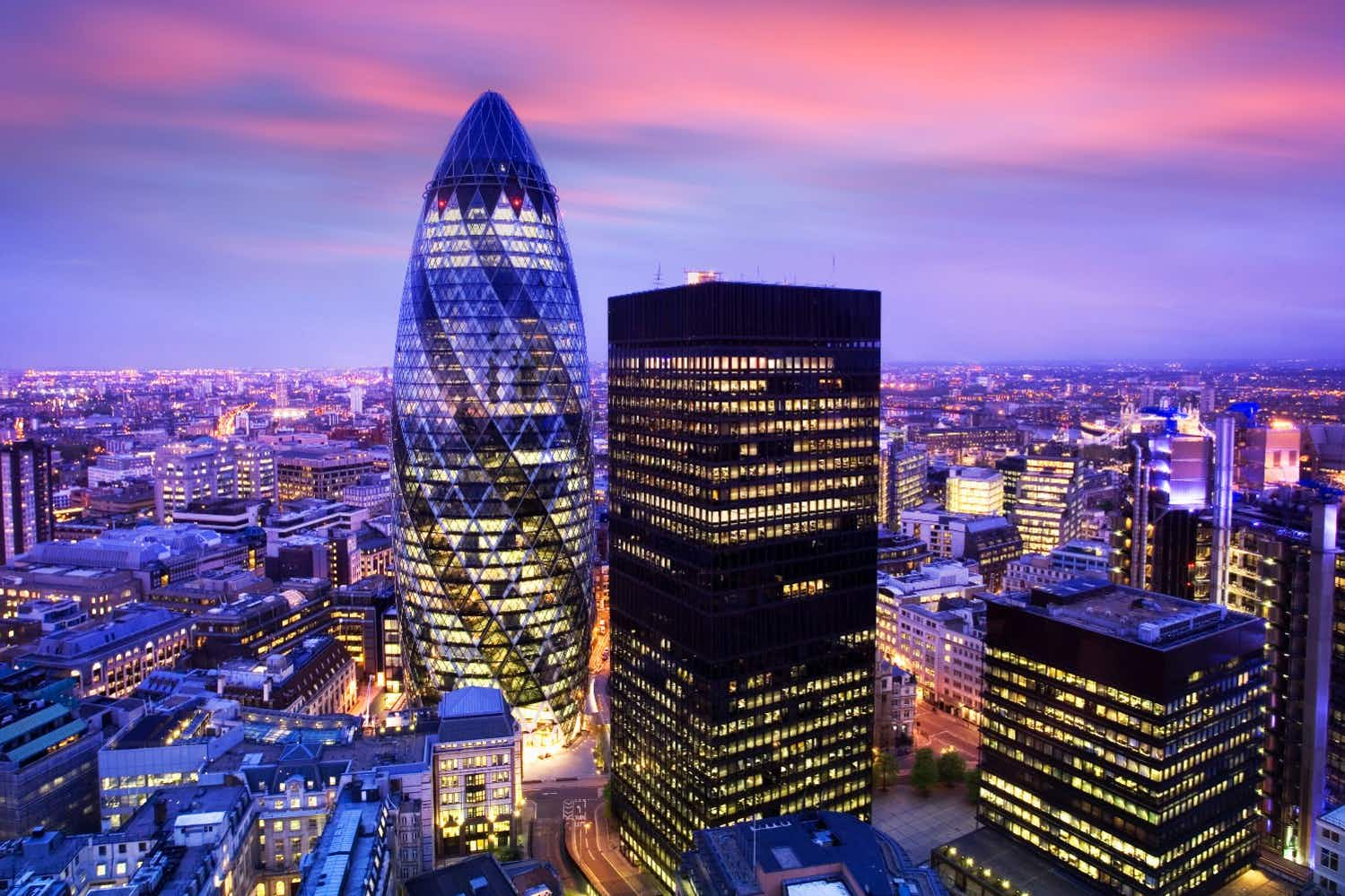 Get 360-degree views of London at the Gherkin's new bar and restaurant