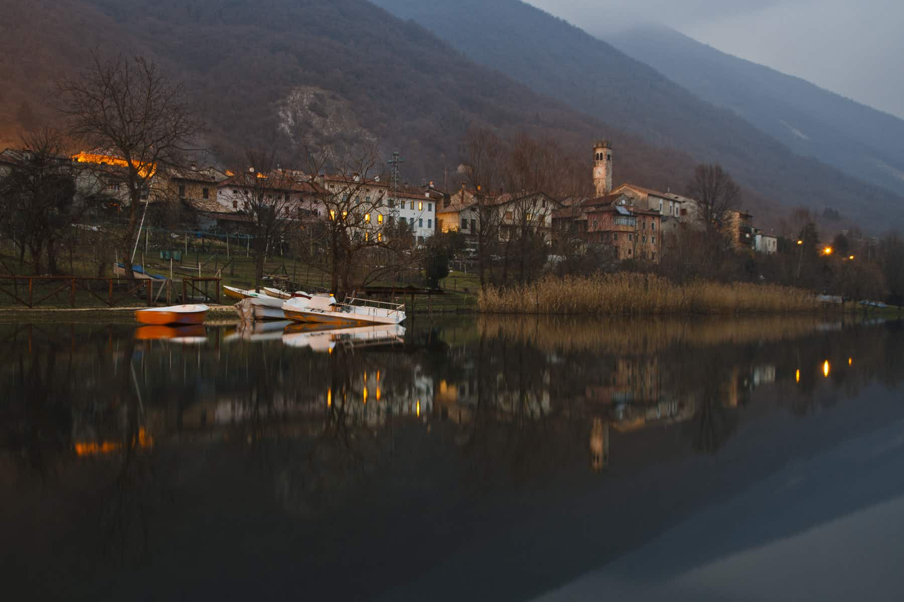 These two Italian lakes are now populated with virtual monsters and fantasy creatures