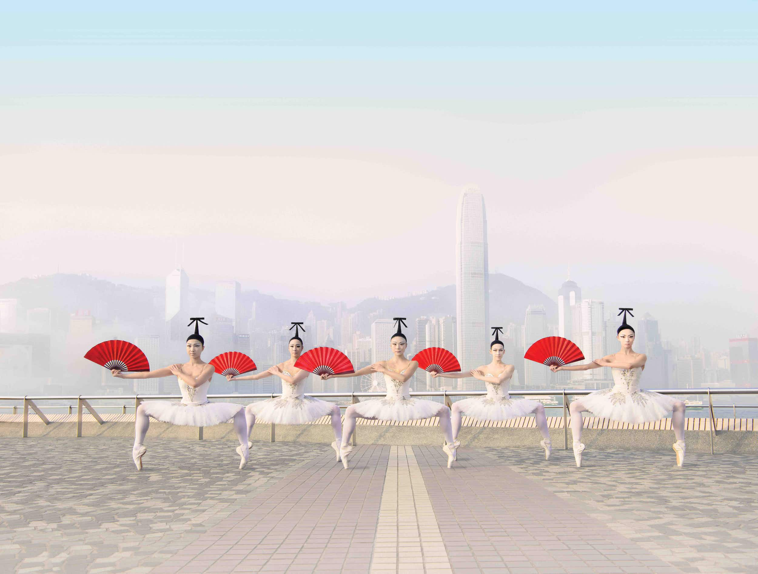 Ballet dancers mark the start of the season with remarkable moves across Hong Kong
