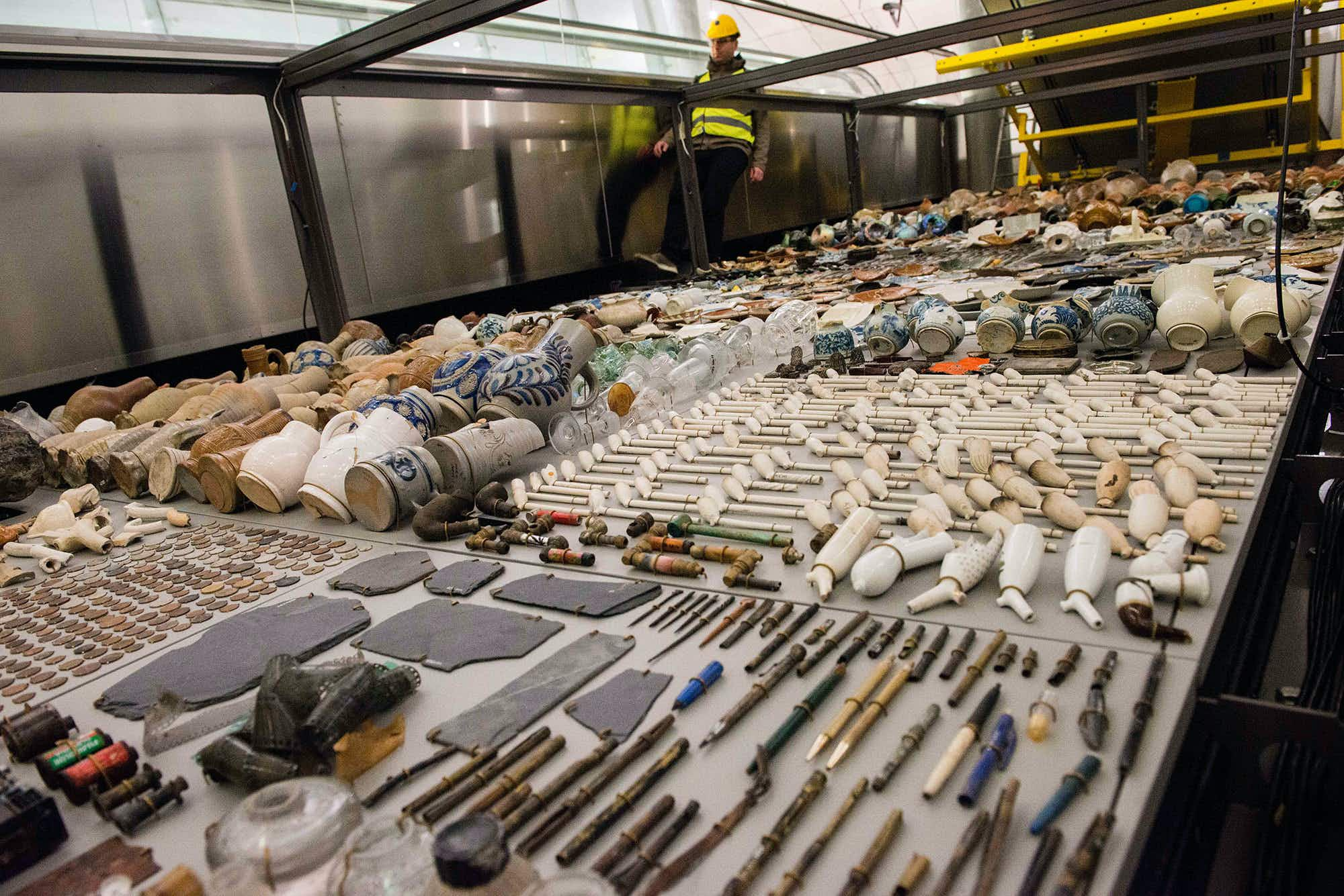 New Amsterdam museum to display archaeological finds from beneath the River Amstel