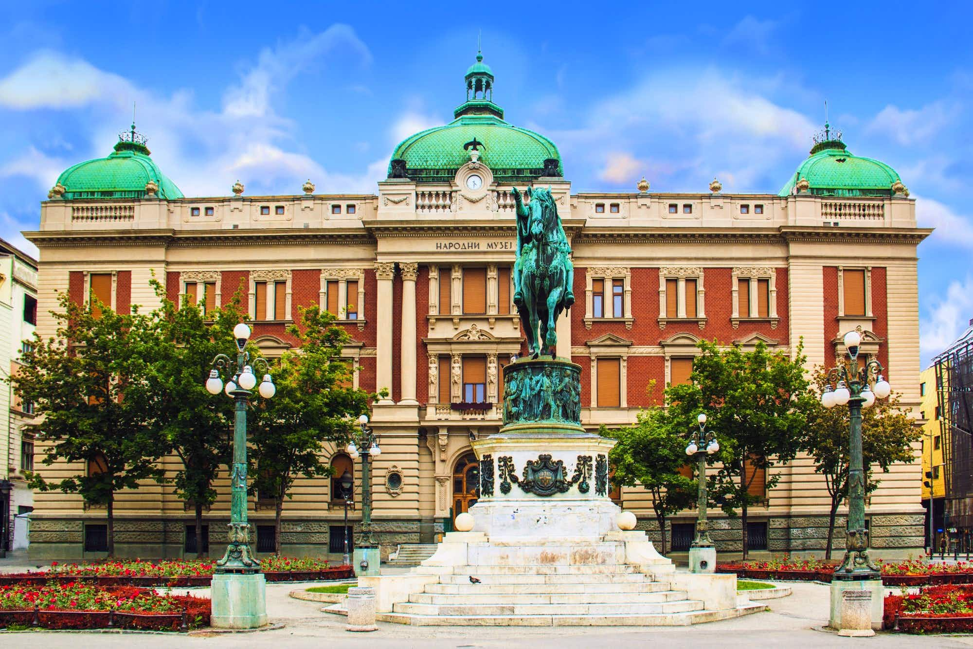 Belgrade's National Museum reopens after being closed for 15 years