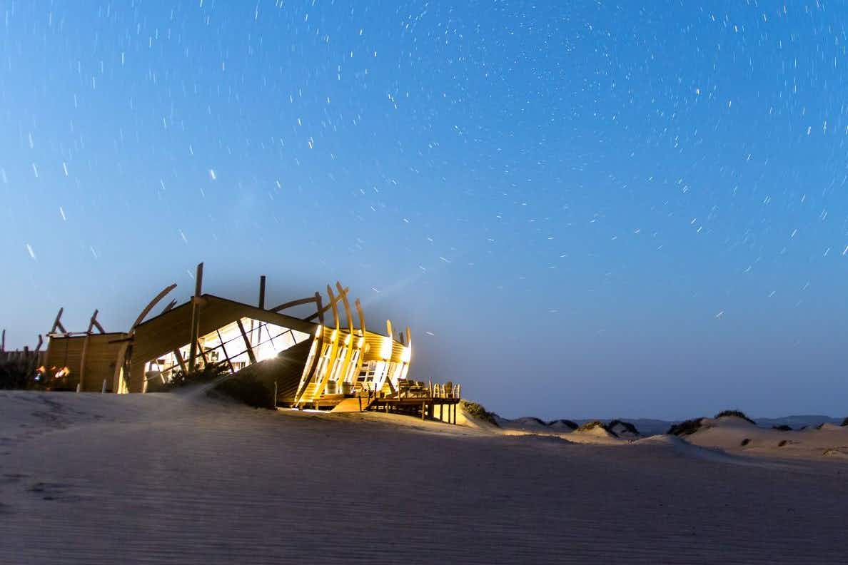 Namibia's Skeleton Coast is now home to a 'shipwreck' hotel