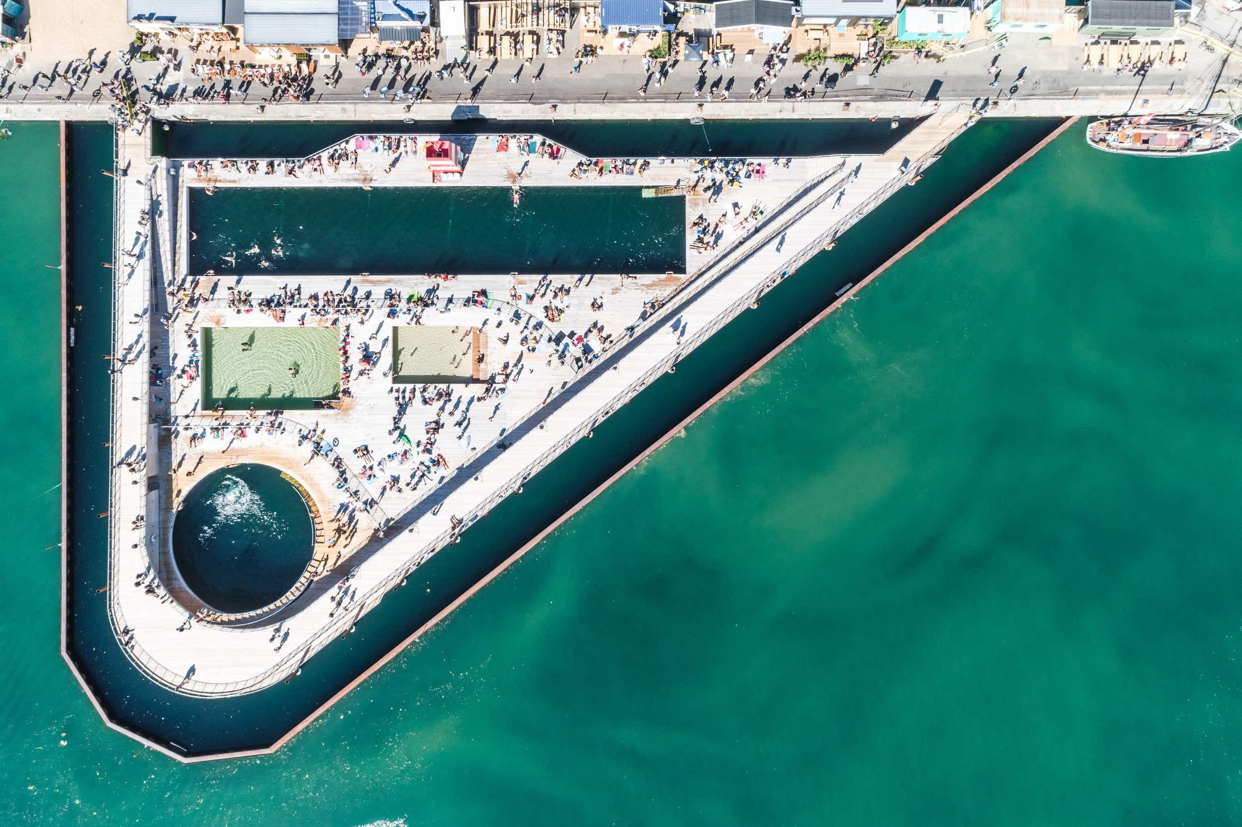 Swim in the world's largest seawater baths in Denmark