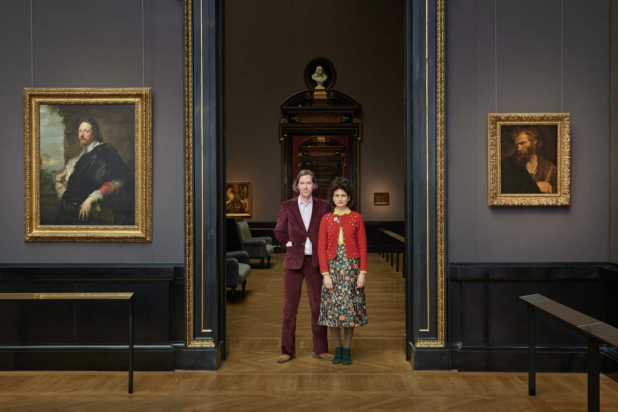 Wes Anderson and Juman Malouf will curate an exhibition in Vienna