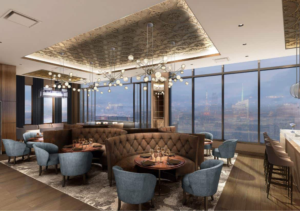 New York's tallest open-air rooftop bar is set to open this year
