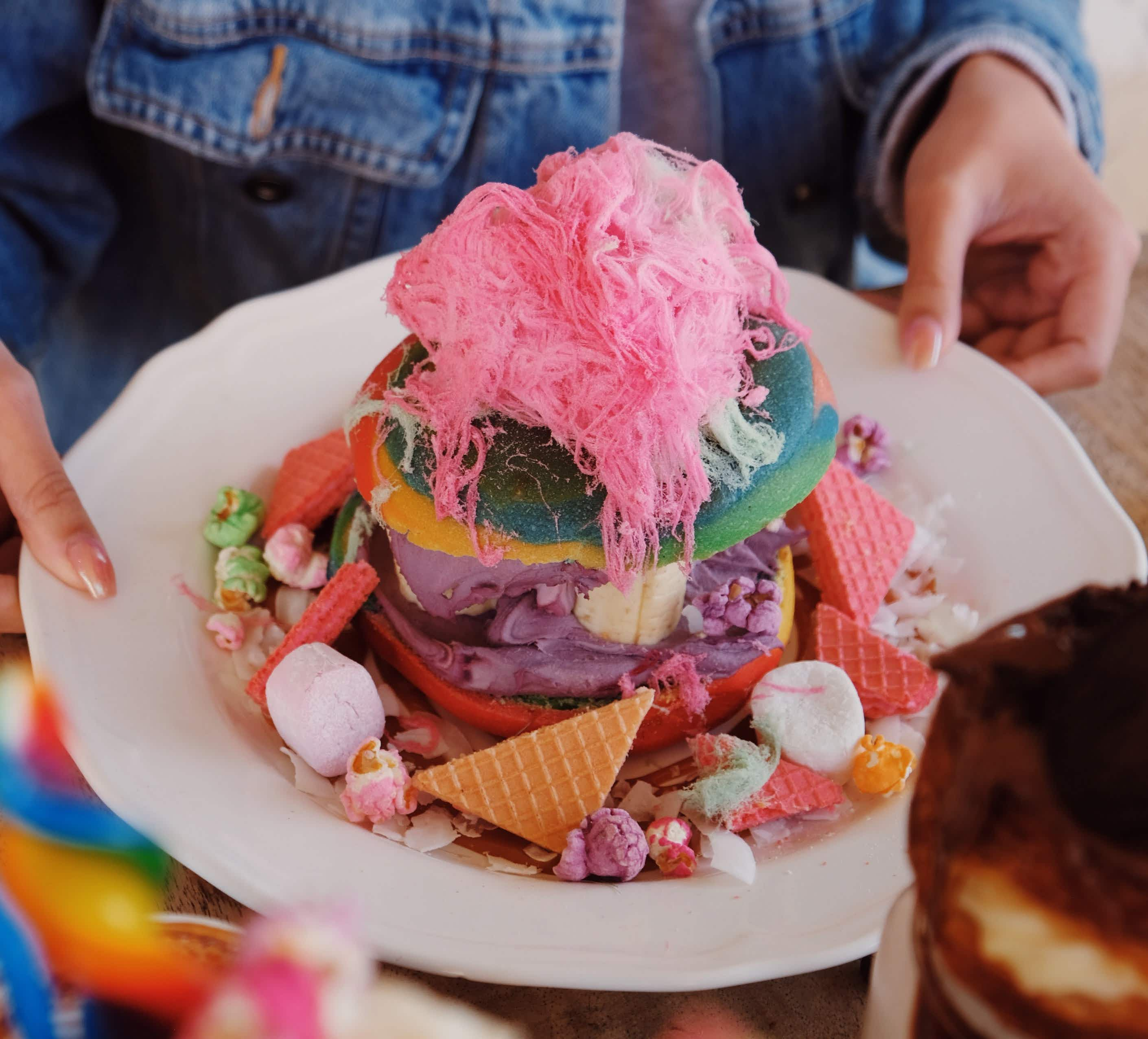 This Sydney breakfast inspired by Willy Wonka will give you the biggest sugar rush