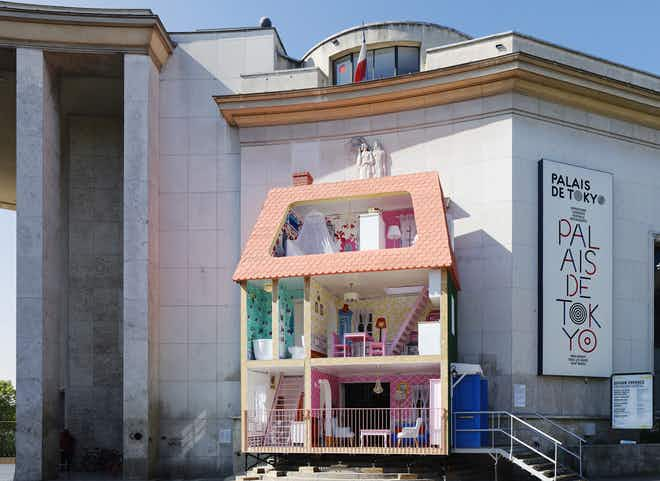 Walk inside a life-sized dollhouse at this Paris art museum