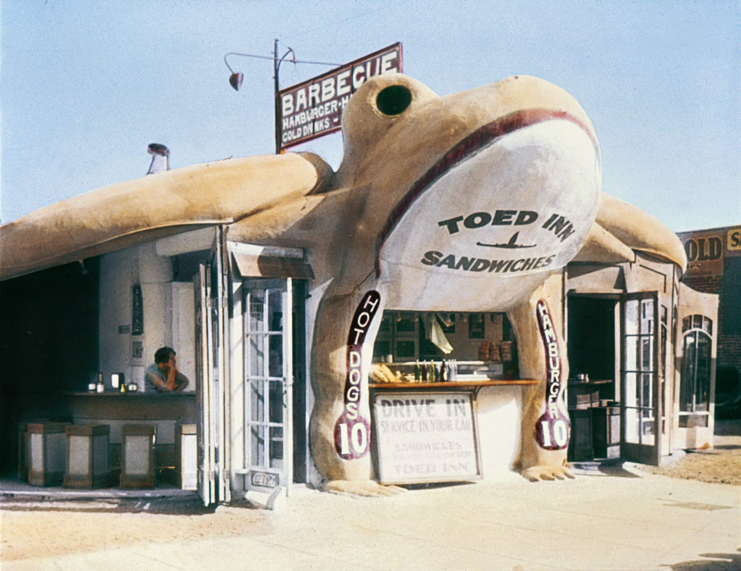 California's quirkiest road-side stops snapped throughout the years