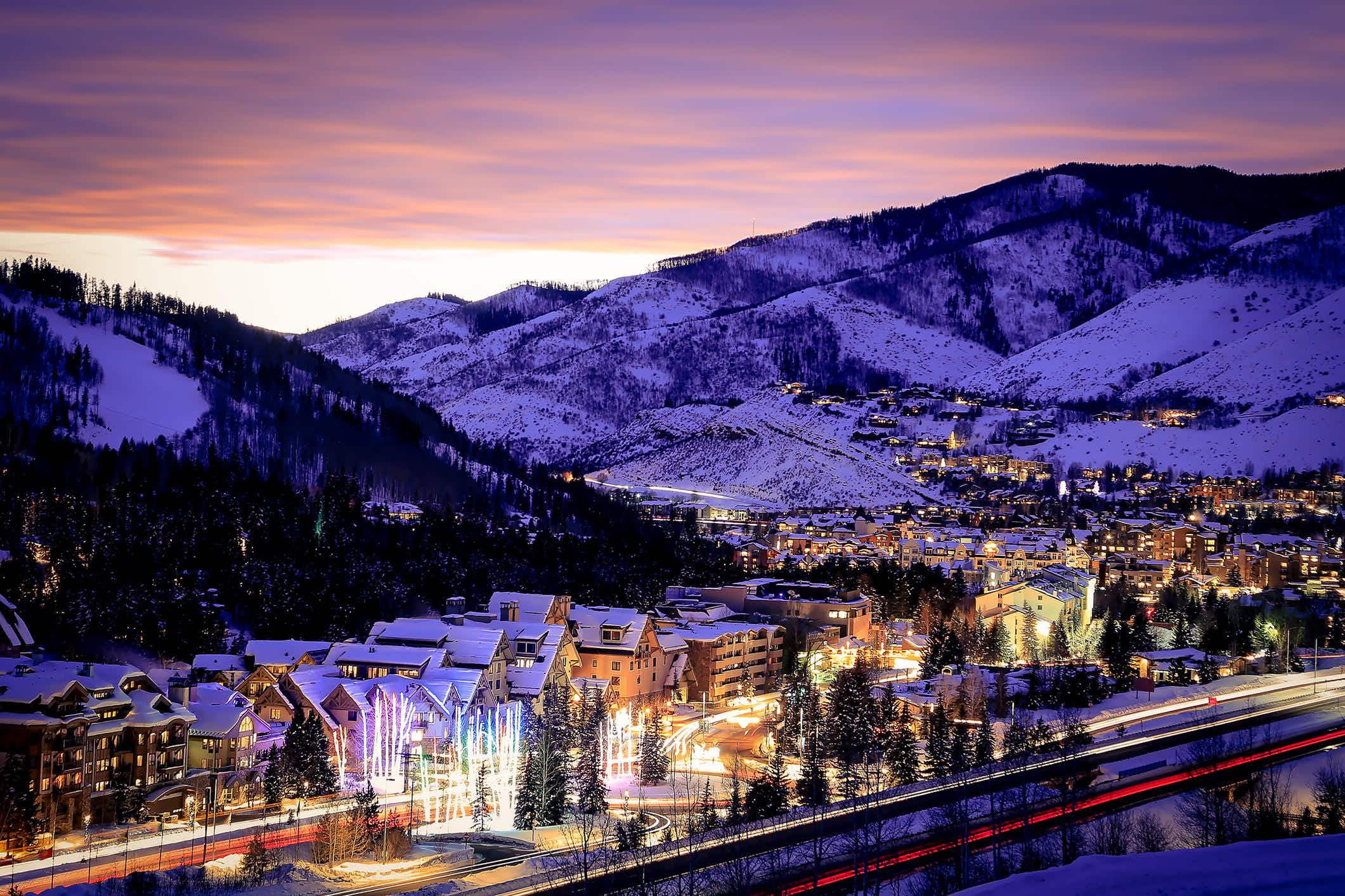 Vail, Colorado has been named the first sustainable mountain resort destination