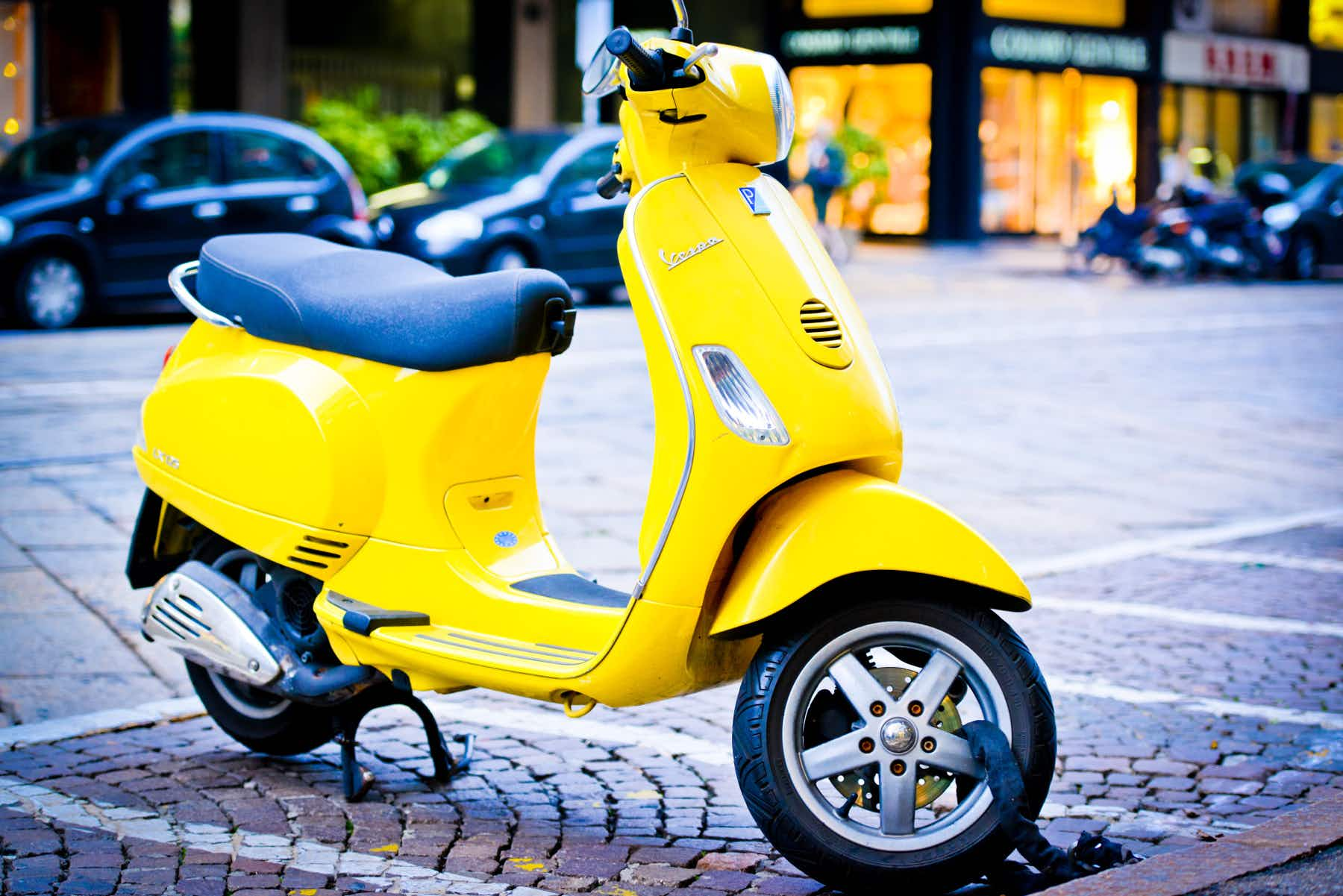The iconic Vespa is going electric from this autumn