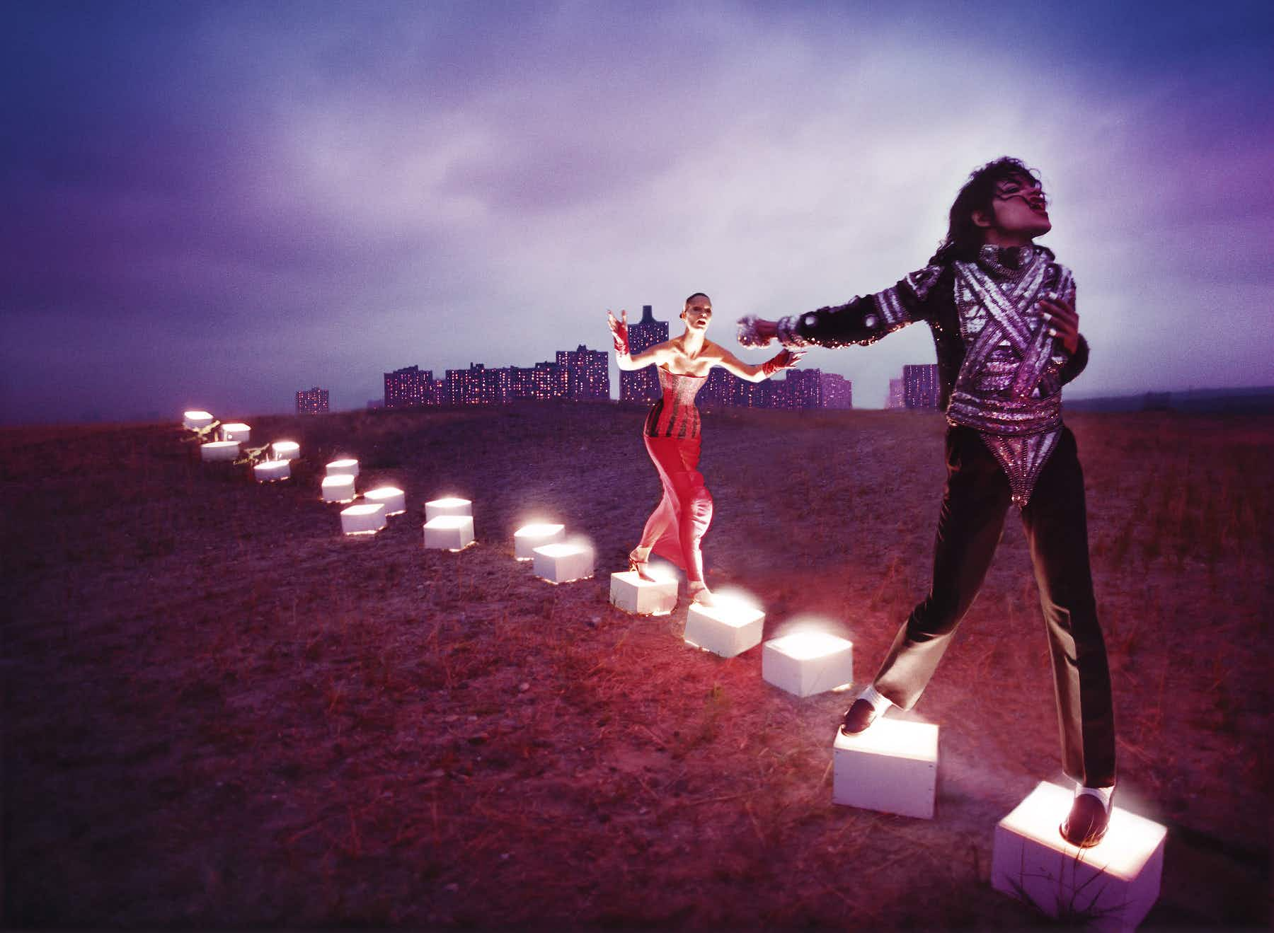 Get a sneak peak at the new Michael Jackson exhibition