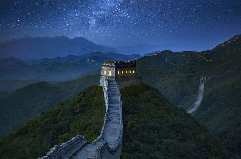 Sleep on the Great Wall of China in a once-in-a-lifetime experience