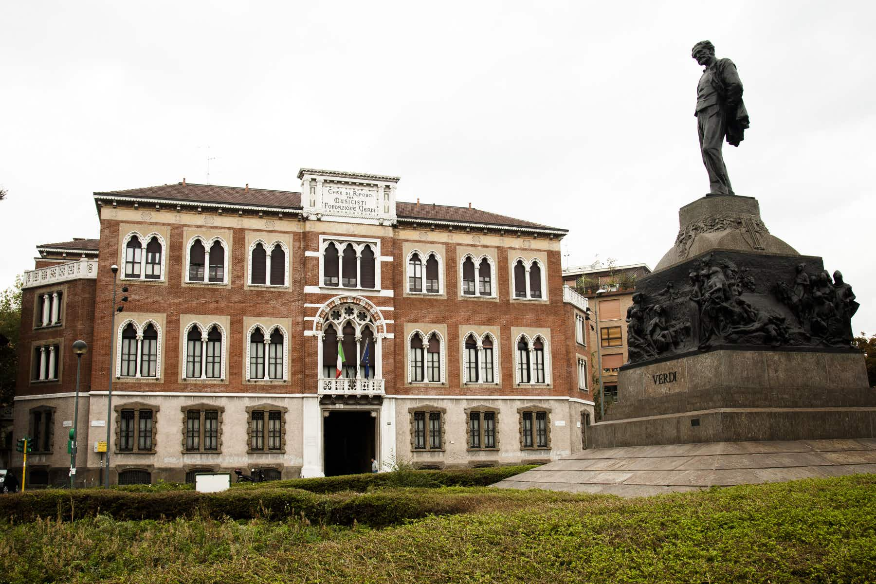 Verdi's gift of a retirement home for musicians is open to the public