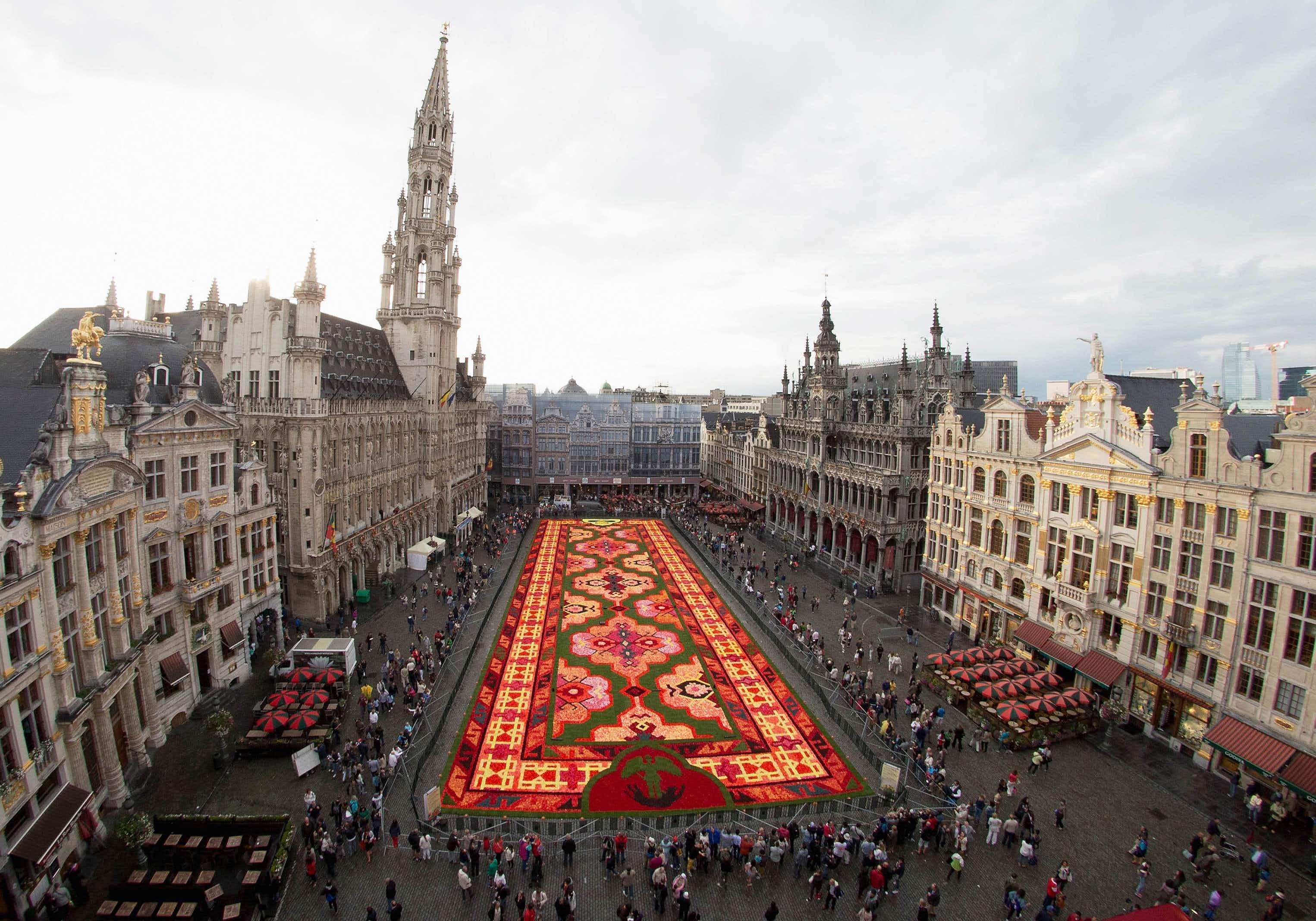 Brussels' magical Flower Carpet returns this weekend