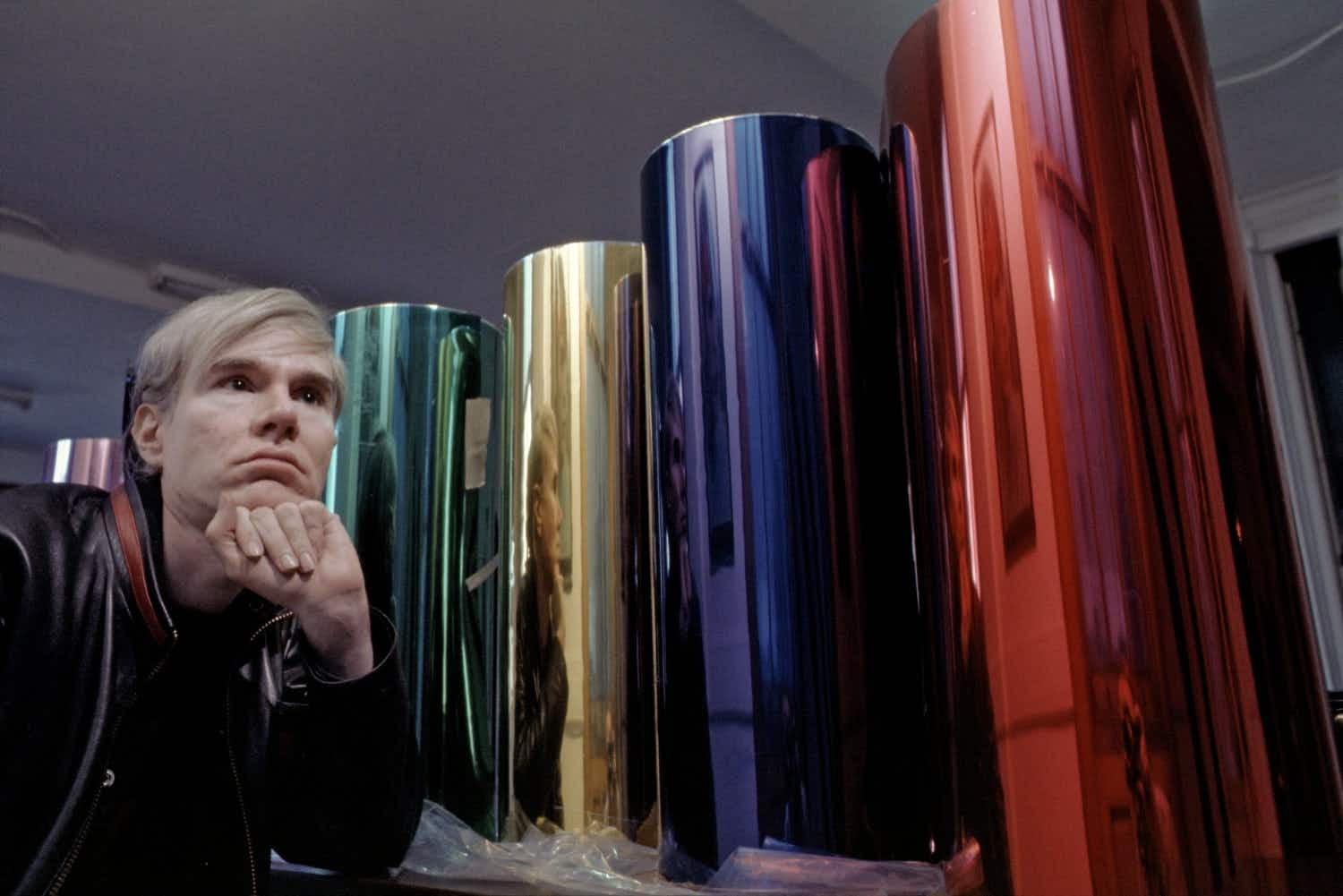 An incredible trove of Andy Warhol's photographic contact sheets is going on display in California