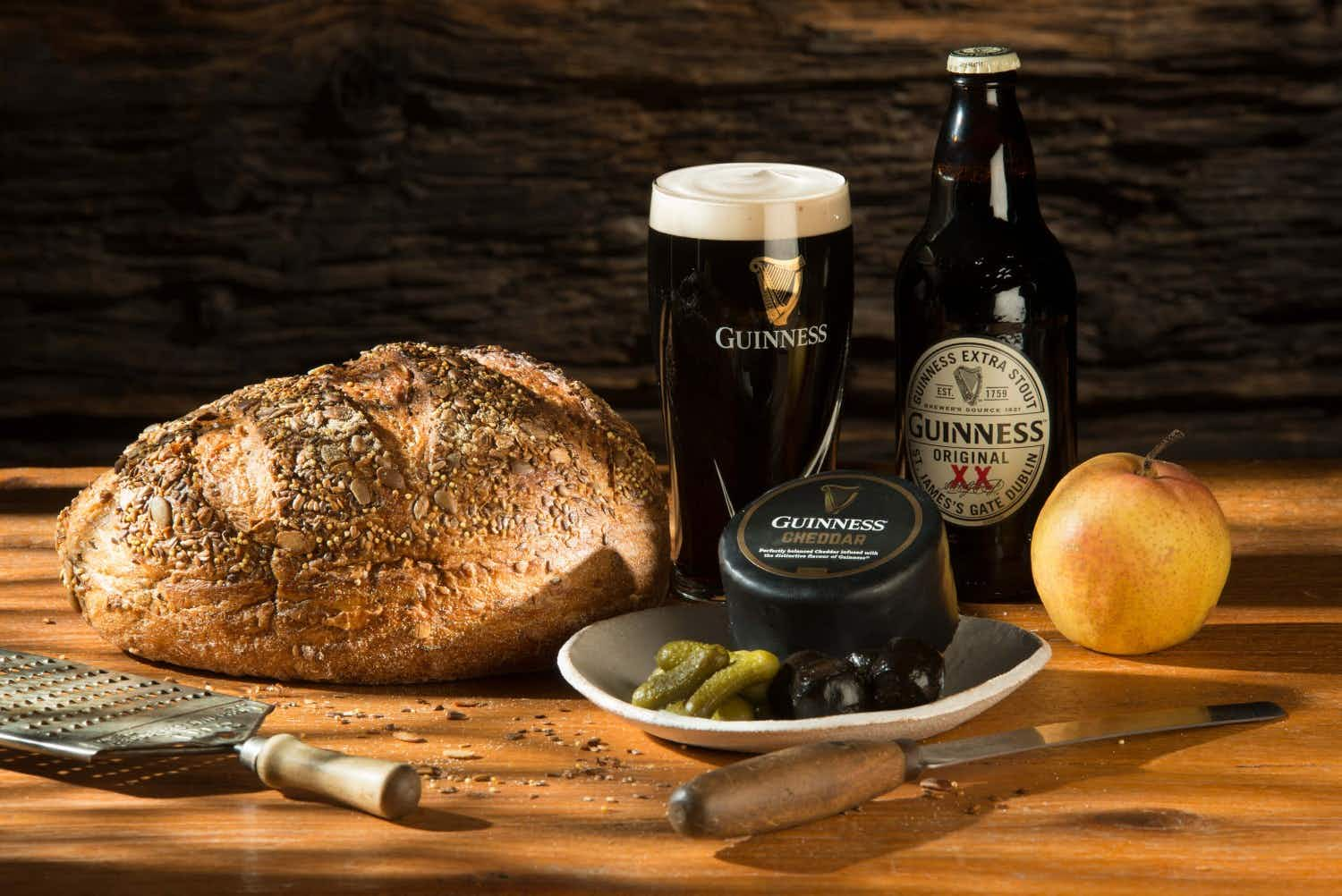 Are you a fan of Irish stout? Perhaps you'll like the new Guinness-infused cheese