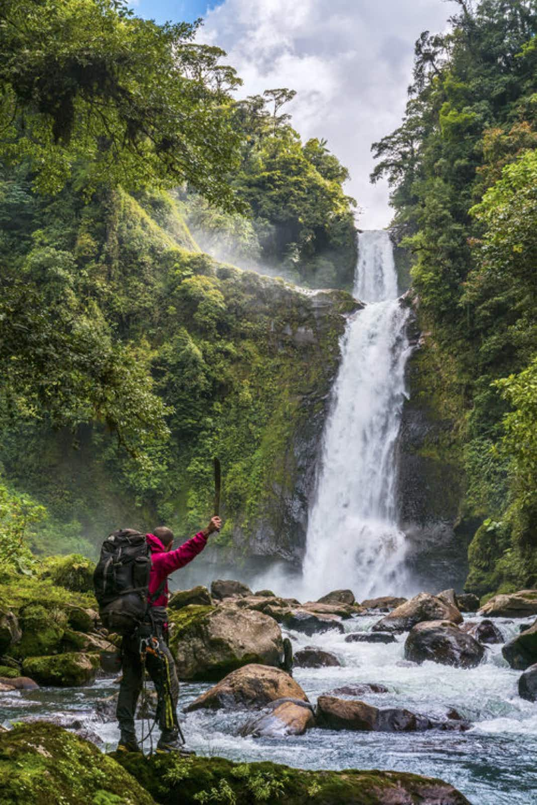 A Costa Rican architect quit his job to search for lost waterfalls