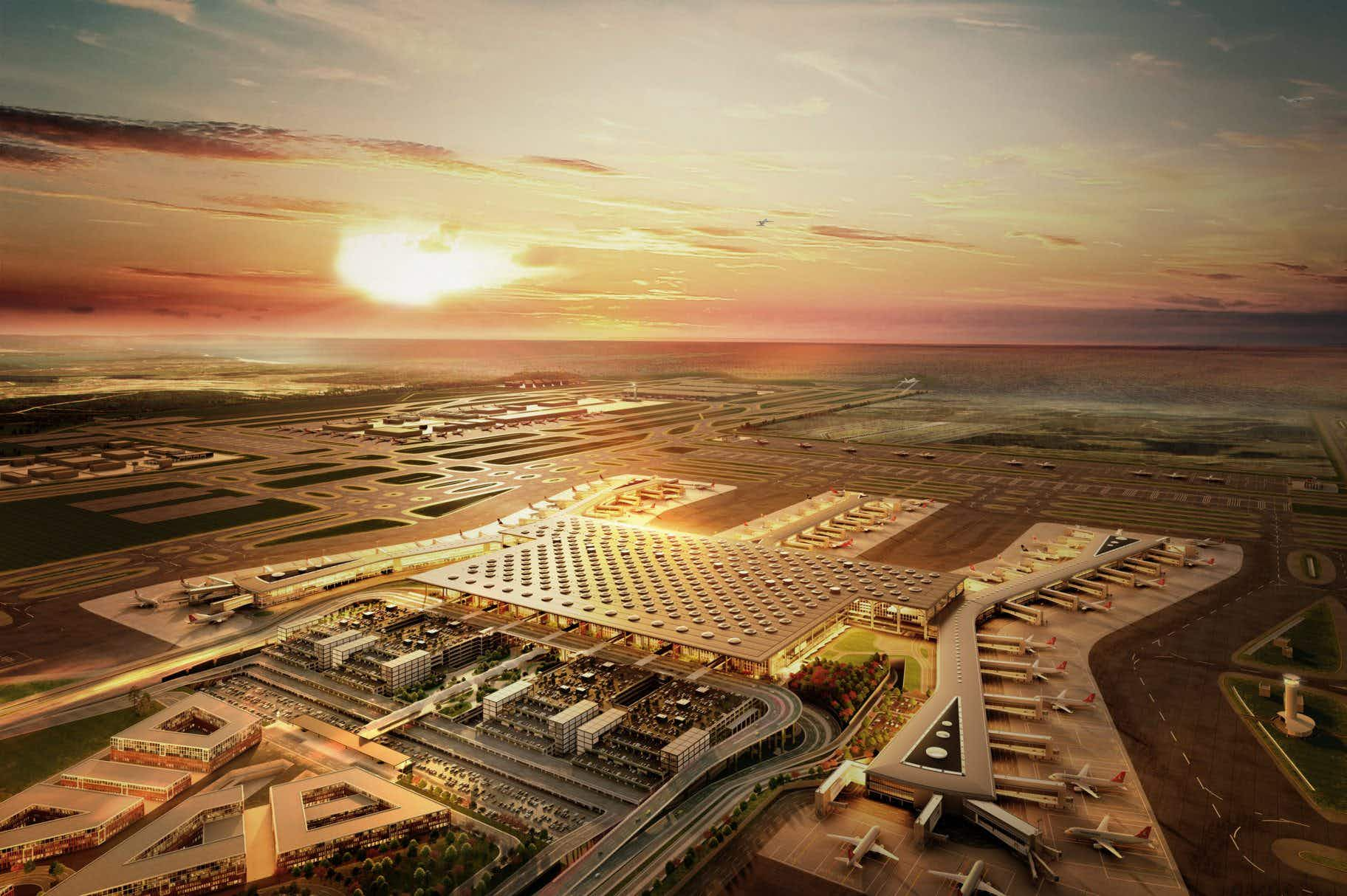 Istanbul's huge new airport opens in October and is expected to become the world's busiest airport
