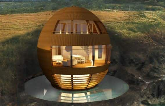 Futuristic egg-shaped retreat for relaxation proposed in Ireland