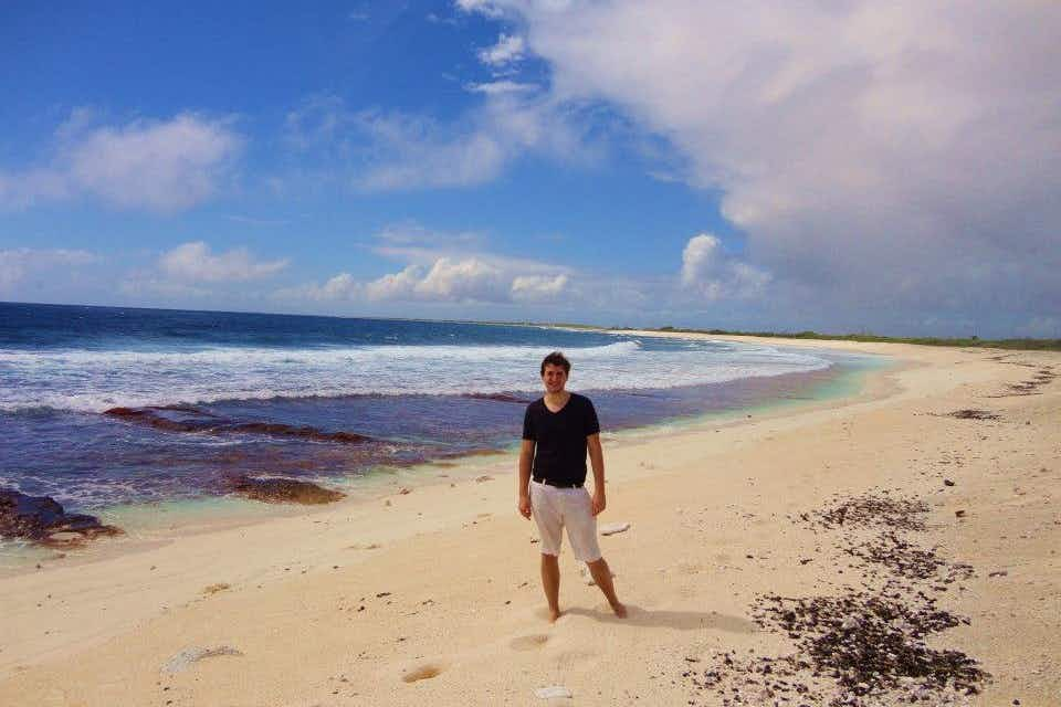 The youngest person to visit every country in the world is giving away his air miles