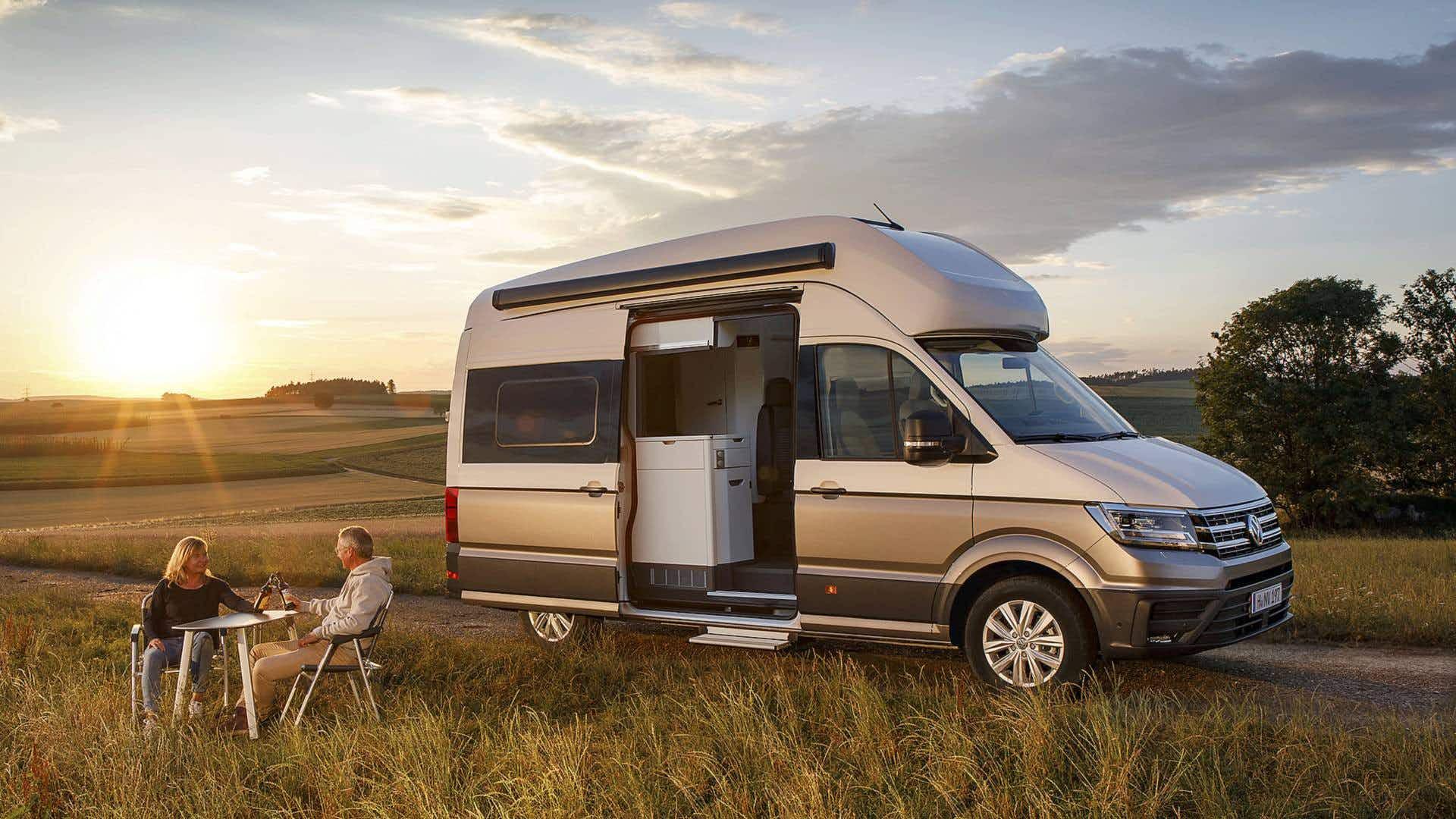 Volkswagen is releasing an extra large camper van so you can travel in comfort
