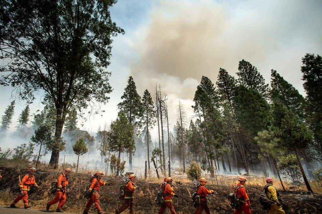 Yosemite National Park closes off areas indefinitely due to fire