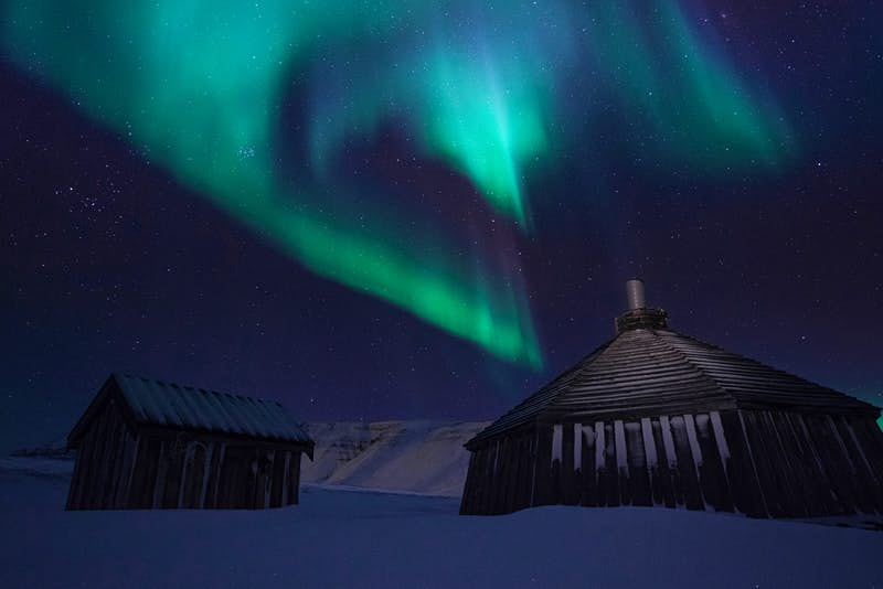 Experience total darkness on this tour for a better chance of seeing the Northern Lights
