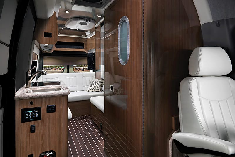 Take a peek inside the super compact new Airstream camper
